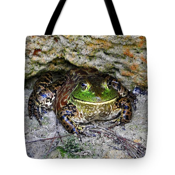 Tote Bag featuring the photograph Colorful Camo by Al Powell Photography USA