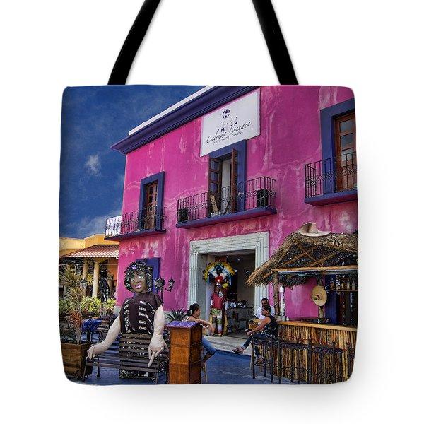 Colorful Cancun Tote Bag by Douglas Barnard
