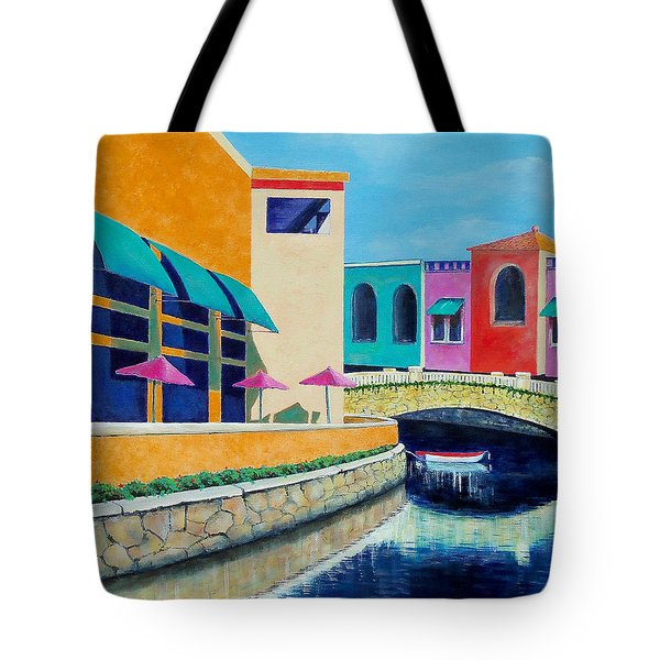 Colorful Cancun Tote Bag