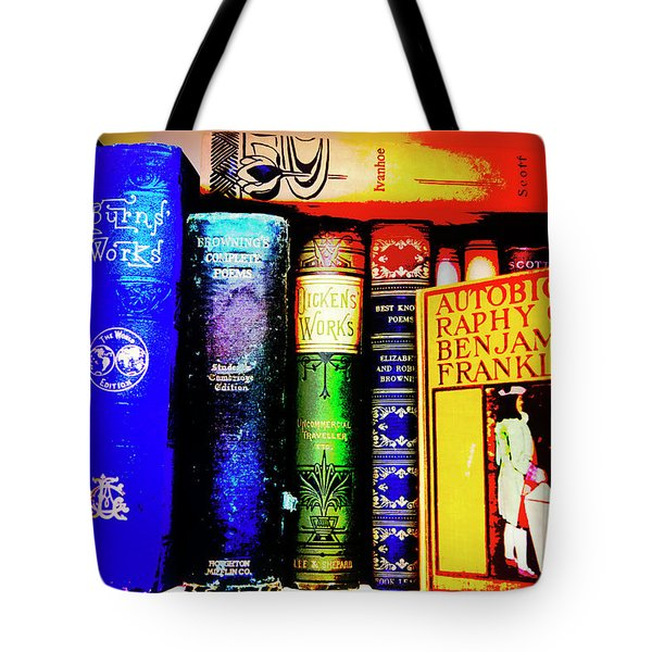 Tote Bag featuring the photograph Colorful Classics by Toni Hopper