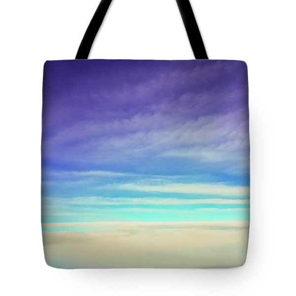 Tote Bag featuring the photograph Colorful Clouds by Jonny D