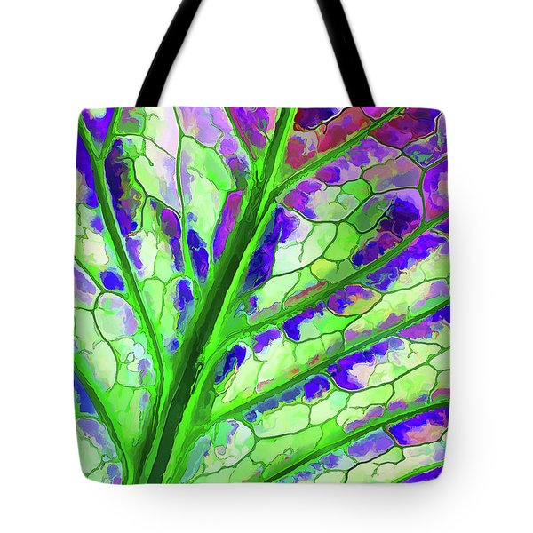 Colorful Coleus Abstract 4 Tote Bag