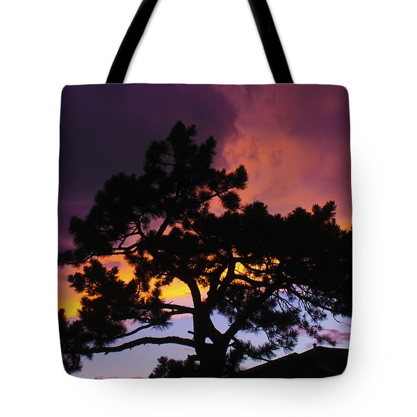 Colorful Colorado Sunset Tote Bag