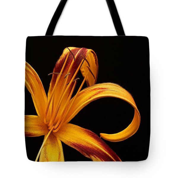 Tote Bag featuring the photograph Colorful Curls by Judy Vincent