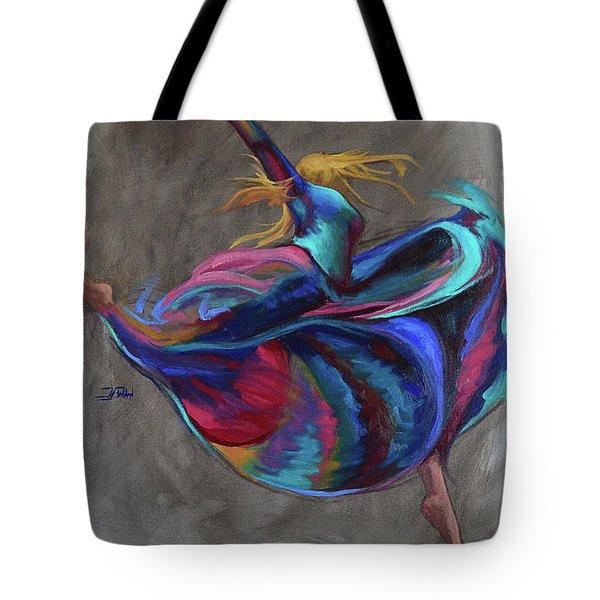 Colorful Dancer Tote Bag