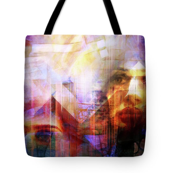 Colorful Drama Vision Tote Bag