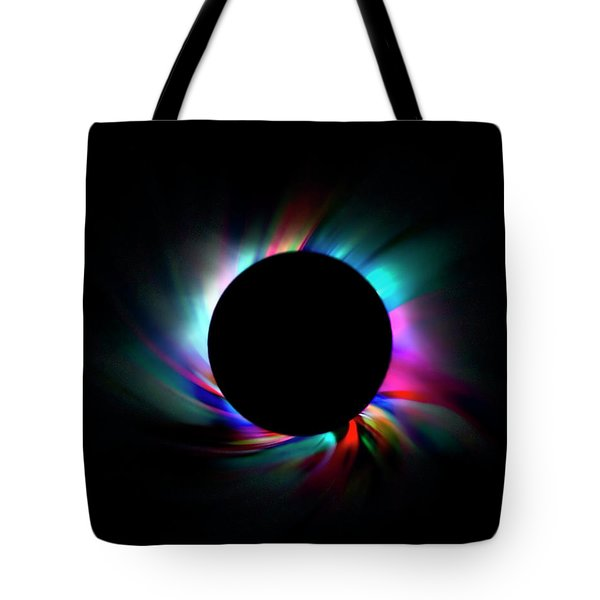 Colorful Eclipse Tote Bag