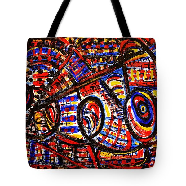 Colorful Expression 18 Tote Bag by Natalie Holland