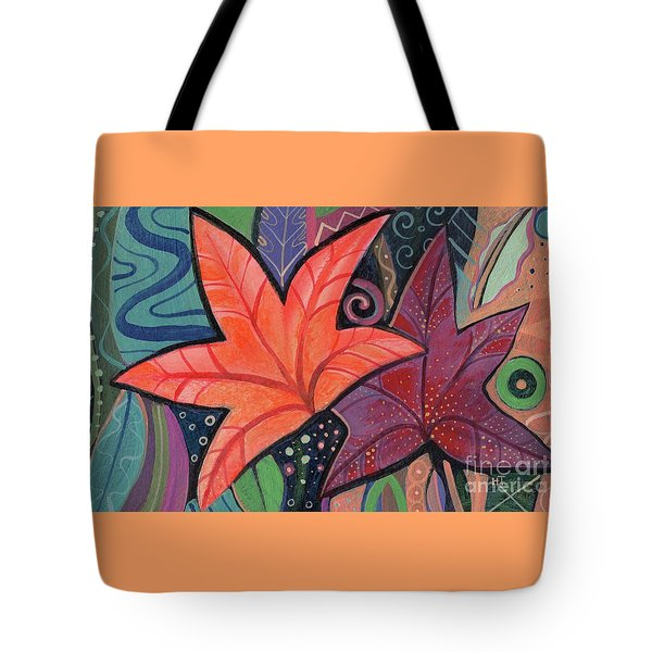 Colorful Fall Tote Bag