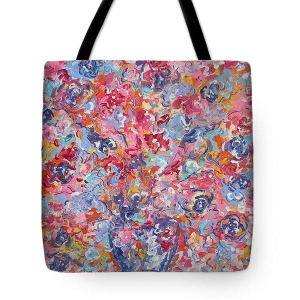 Colorful Floral Bouquet. Tote Bag