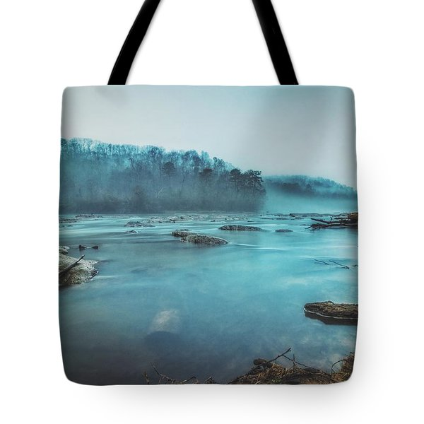 Colorful Fog Tote Bag