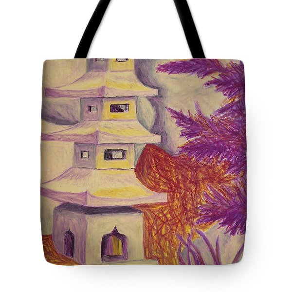 Colorful Garden Tote Bag by Jean Haynes