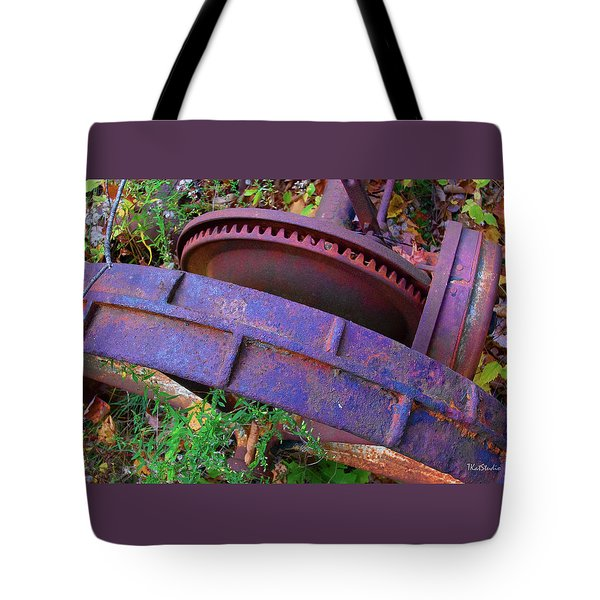 Colorful Gear Tote Bag
