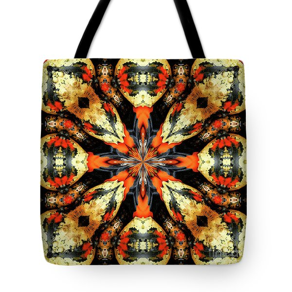Colorful Gourds Abstract Tote Bag