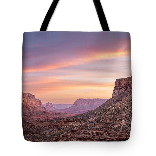 Colorful Havasupai Hike Tote Bag