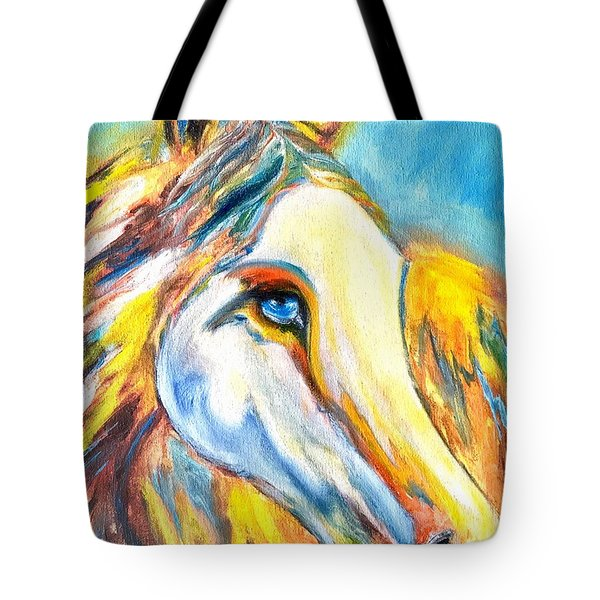Colorful Horse Sensation Tote Bag