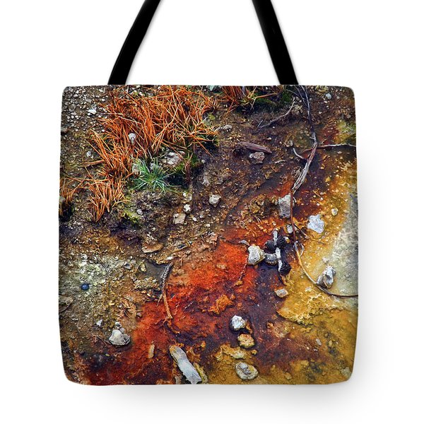 Colorful Hot Pool Tote Bag