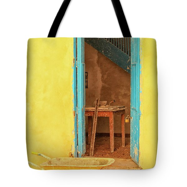 Colorful House  Tote Bag
