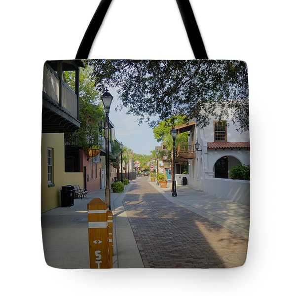 Colorful Hypolita Street Tote Bag