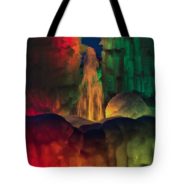 Colorful Ice  Tote Bag by Betty Pauwels