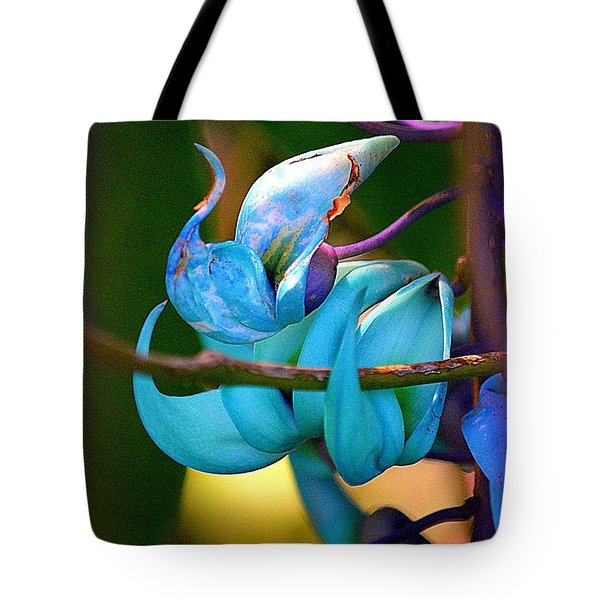 Colorful Jade Blossom Tote Bag