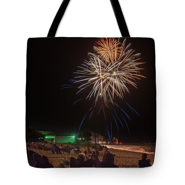 Tote Bag featuring the photograph Colorful Kewaunee, Fourth by Bill Pevlor