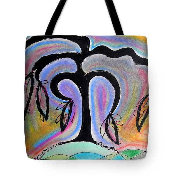 Colorful Life Tote Bag