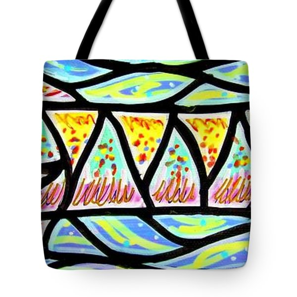 Colorful Longfish Tote Bag