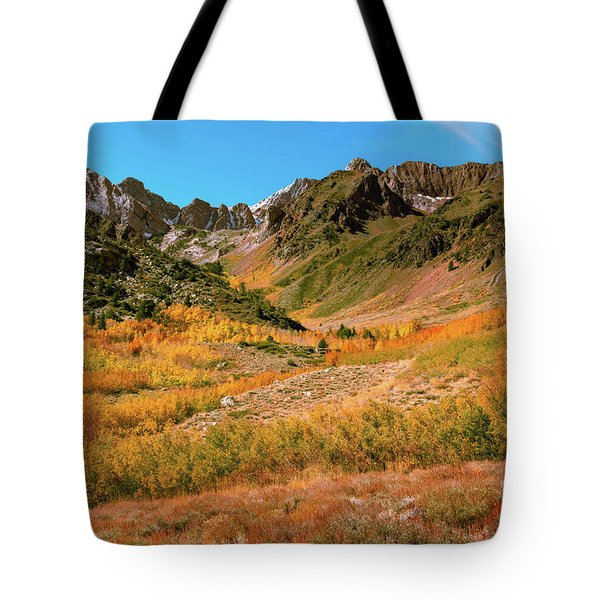 Colorful Mcgee Creek Valley Tote Bag