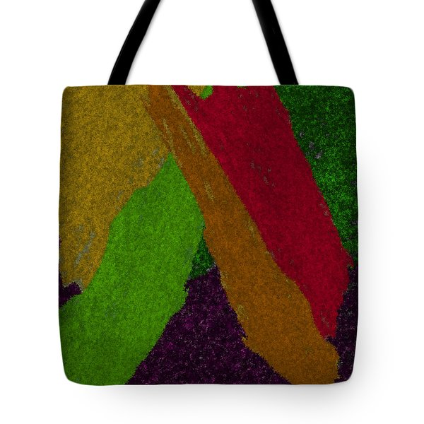 Tote Bag featuring the digital art Colorful by Michelle Audas