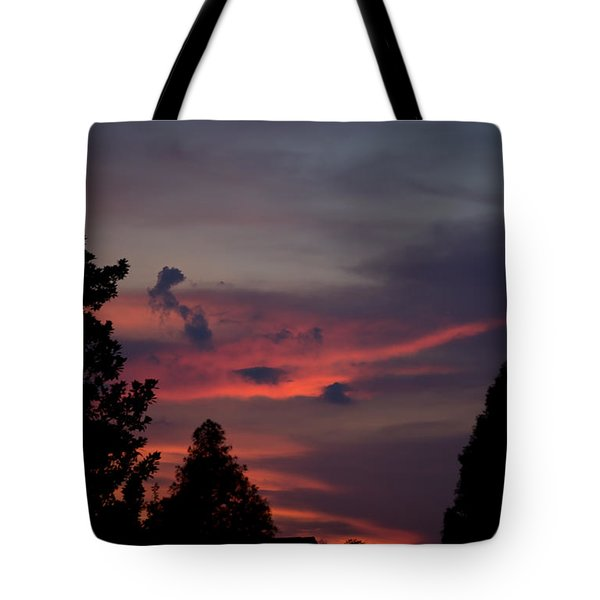 Colorful Mississippi Sky 1 Tote Bag