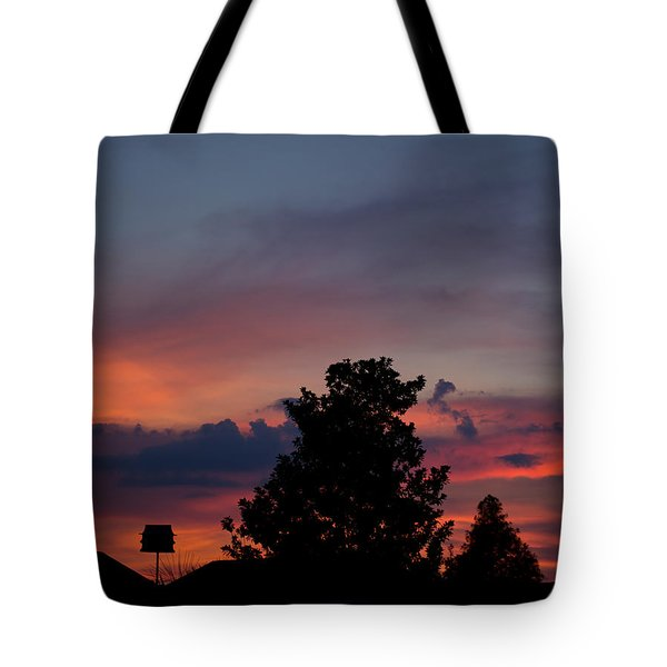 Colorful Mississippi Sky 2 Tote Bag