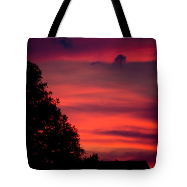 Colorful Mississippi Sky 3 Tote Bag