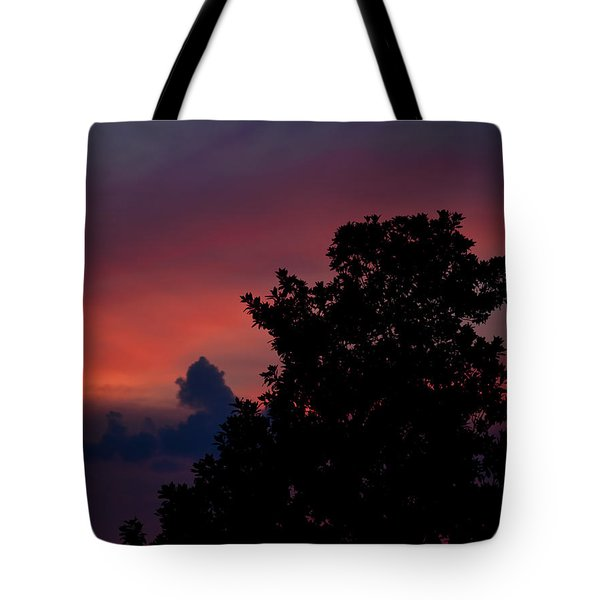 Colorful Mississippi Sky 4 Tote Bag