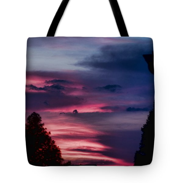 Colorful Mississippi Sky 5 Tote Bag