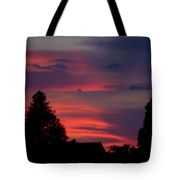 Colorful Mississippi Sky 6 Tote Bag