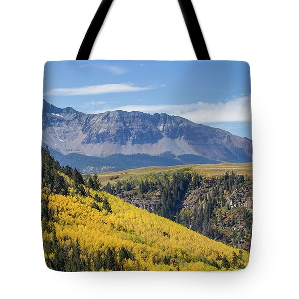 Colorful Mountains Near Telluride Tote Bag