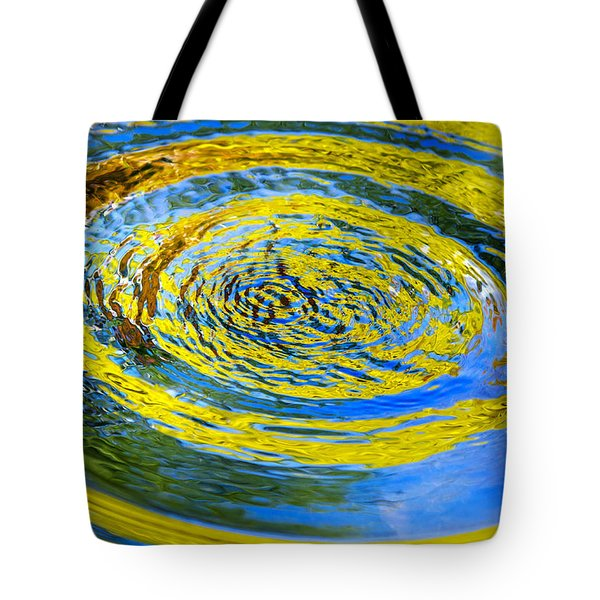 Colorful Nature Abstract Tote Bag by Christina Rollo