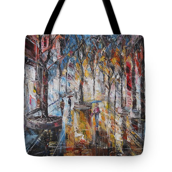 Colorful Night V Tote Bag