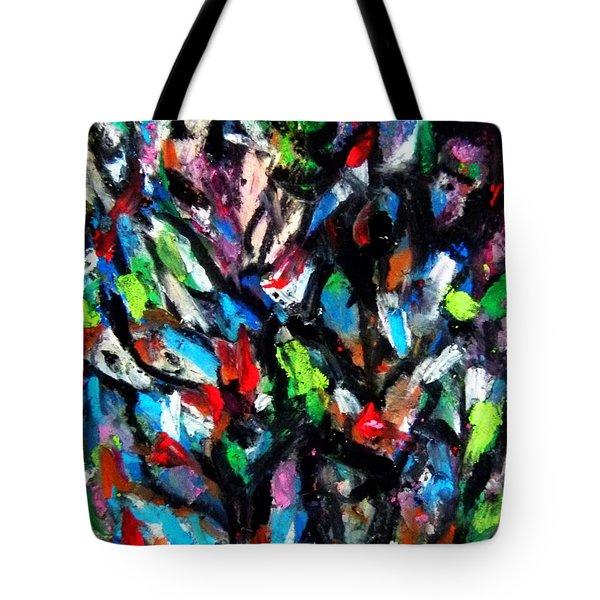 Colorful Of Life Tote Bag