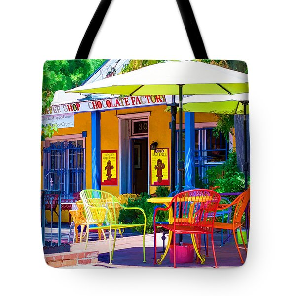 Colorful Old Town 2 Tote Bag