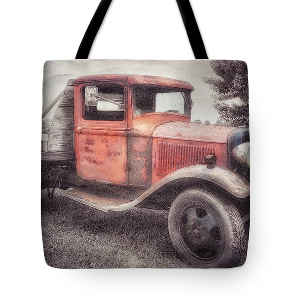 Colorful Past Tote Bag