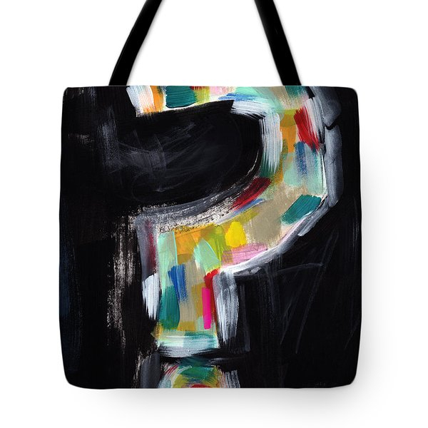 Colorful Questions- Abstract Painting Tote Bag