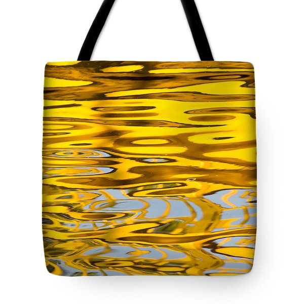 Colorful Reflection In The Water Tote Bag by Odon Czintos