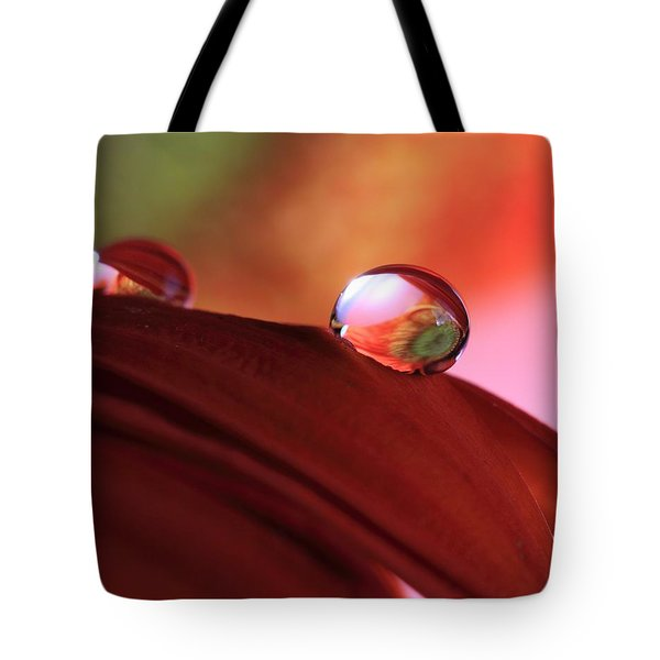 Colorful Reflections Tote Bag