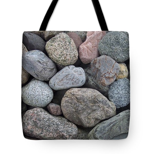 Tote Bag featuring the photograph Colorful Rocks by Richard Bryce and Family