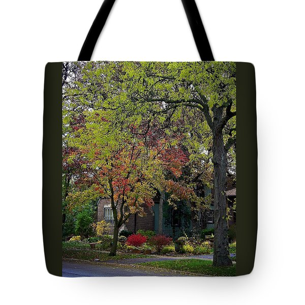 Colorful Sidwalk Tote Bag