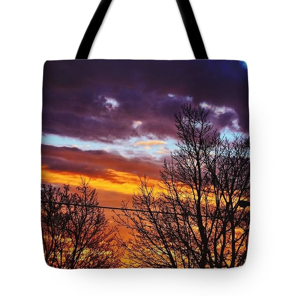 Colorful Skies Tote Bag