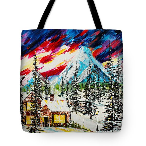 Colorful Sky Tote Bag