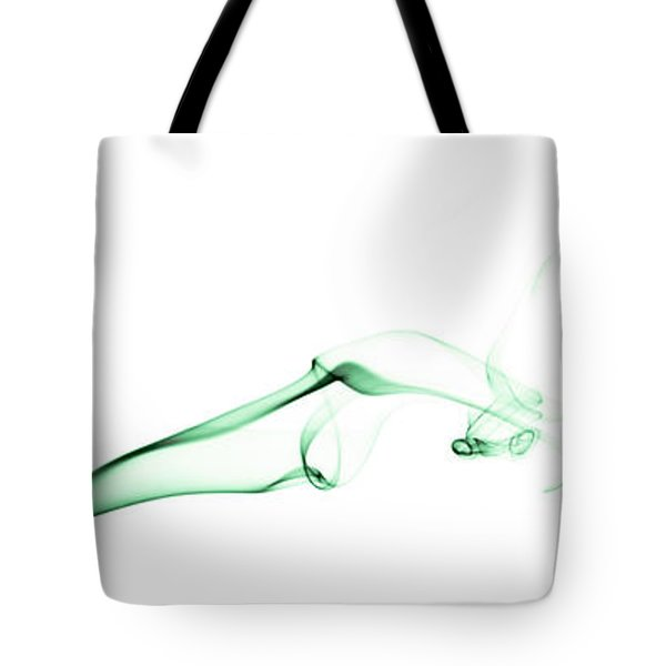 Colorful Smoke II - Rgb Triptych Tote Bag